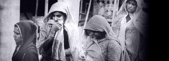 Shobu Kapoor, Sudha Bhuchar, Nina Wadia, Women of the Dust, 1994.jpg