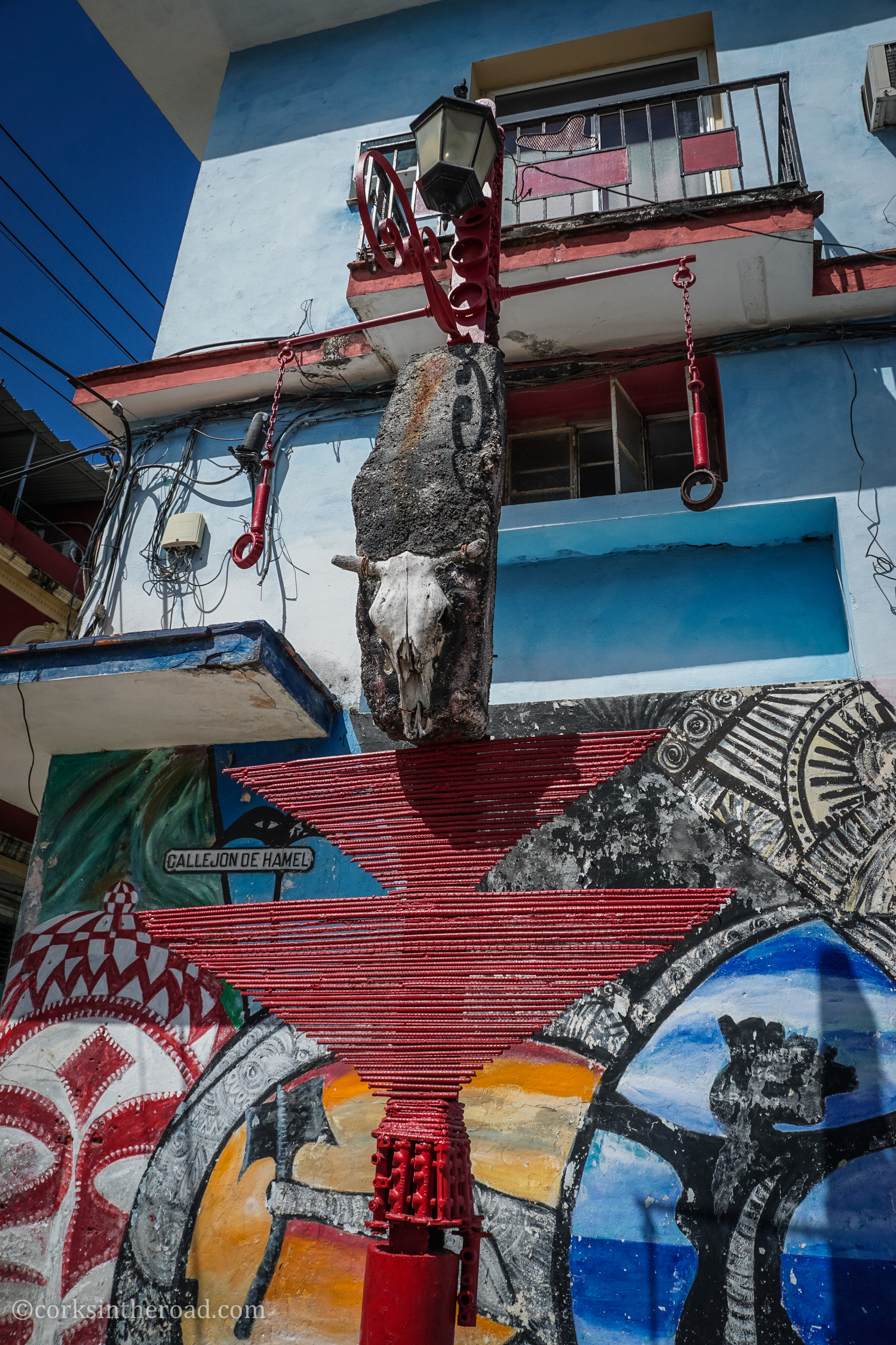 Corksintheroad, Cuba, Hamel.jpg