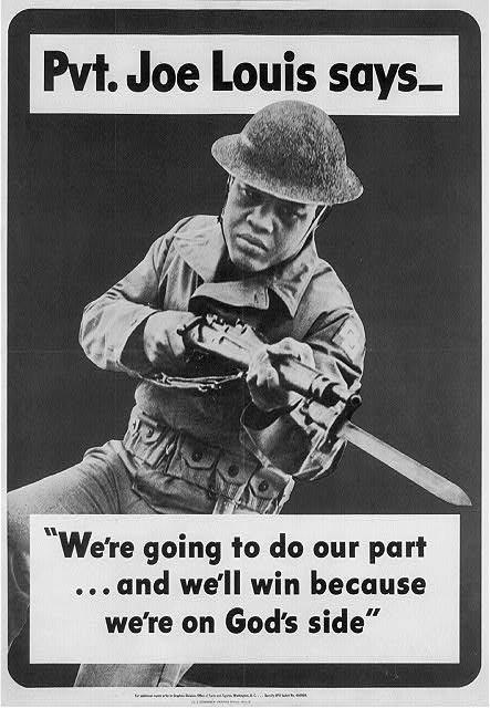 Joe Louis, Army promotion