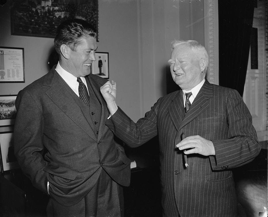 Gene Tunney and Vice President John Nance Garner