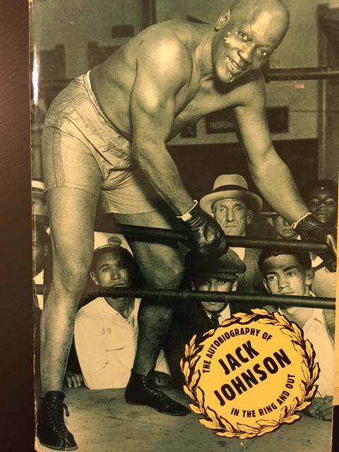 Jack Johnson's   In the Ring and Out  , originally published in 1928; the cover above is from Citadel's 1992 reprint edition.