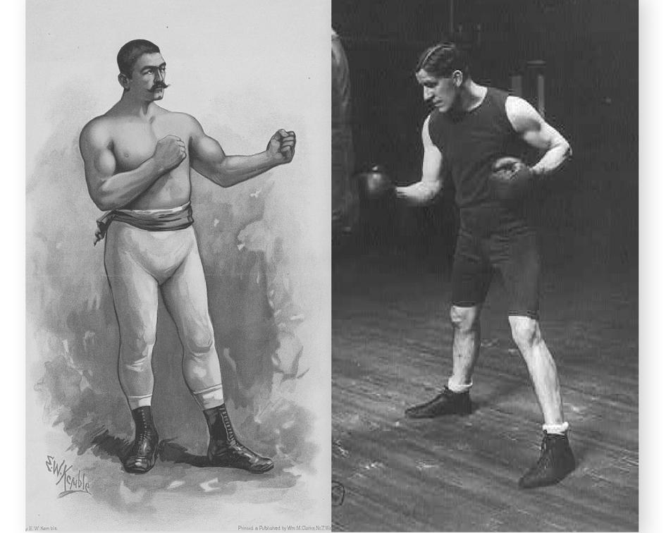 Sullivan (left) and Corbett