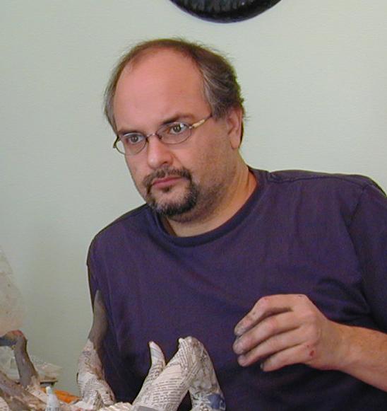 Scott Hunter, painter, designer