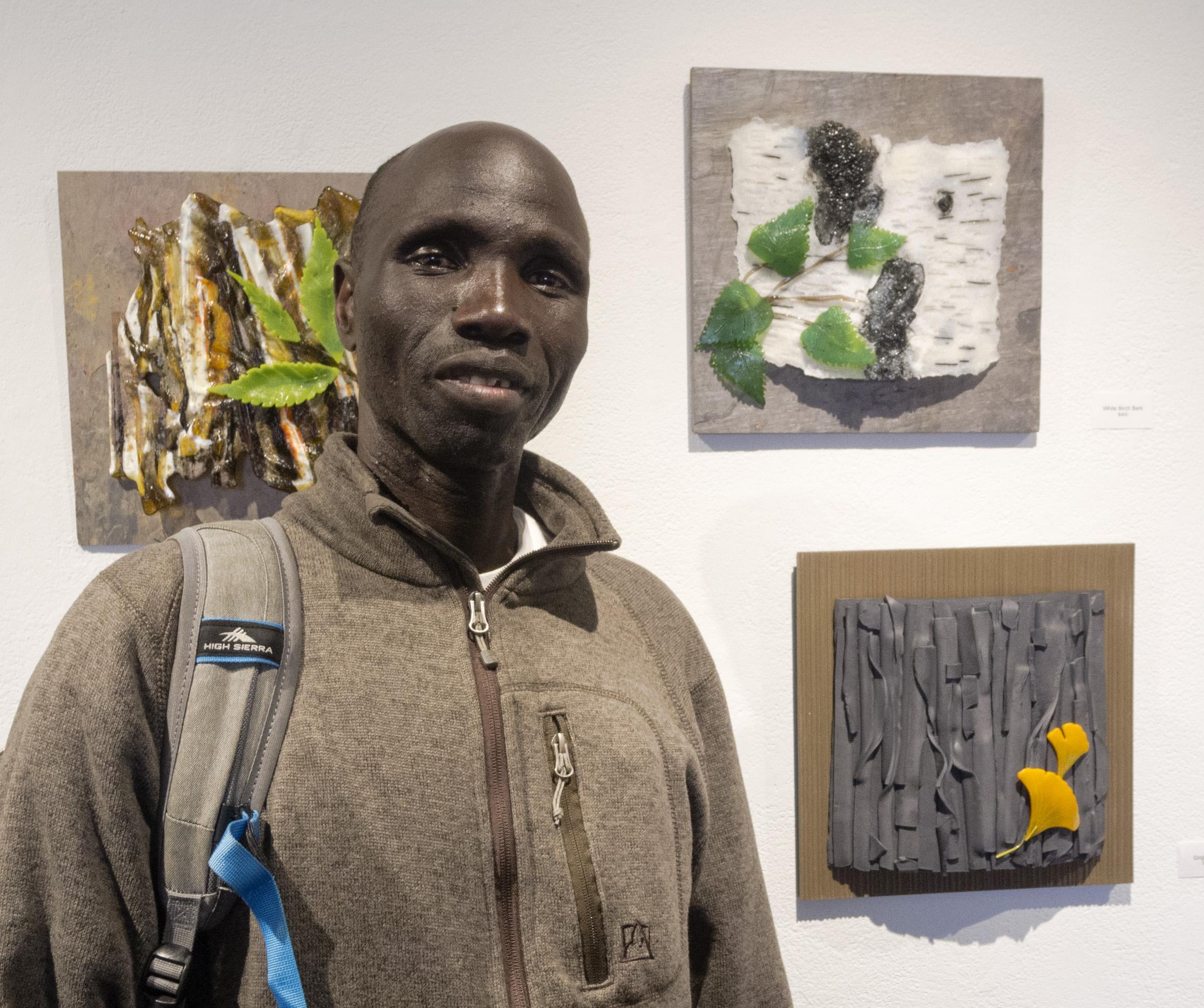 Timothy Ogatu, welder, handyman