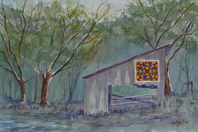 Shed on the Quilt Trail