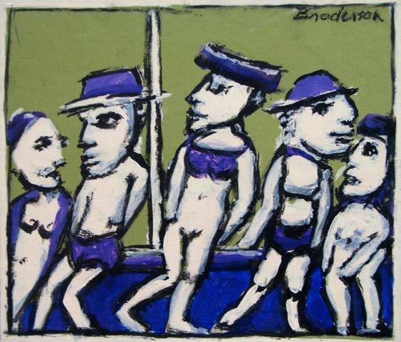 Untitled Group Purple *