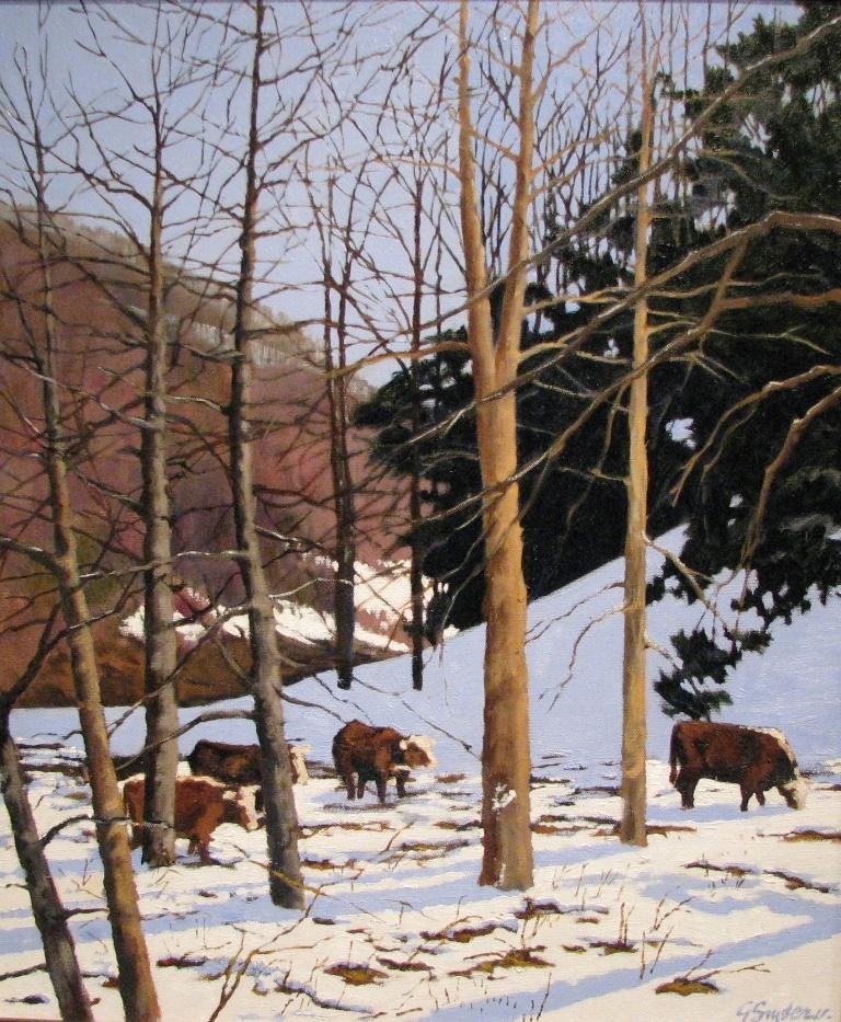 Blue Ridge Winter *