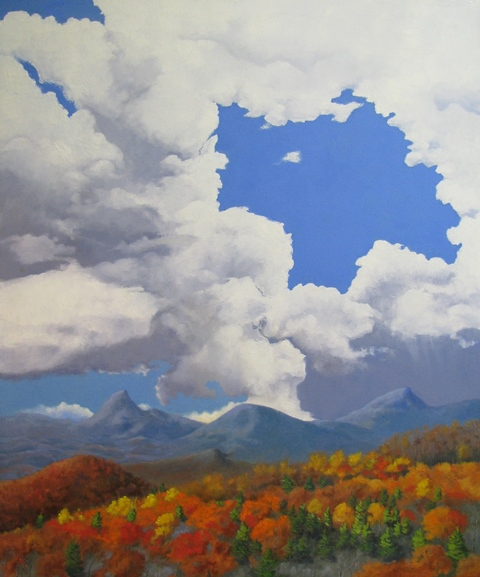 Storm over Hawksbill *