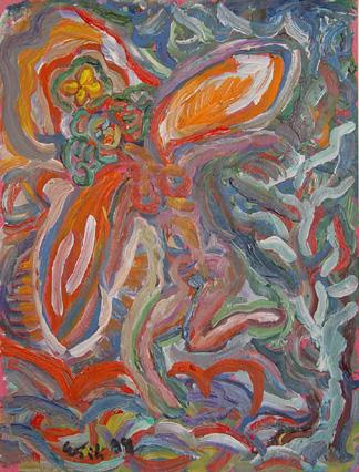 Angel Orange Wings