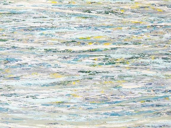 """""""Upper Creek Falls: An Abstraction"""" by Loren Berry"""