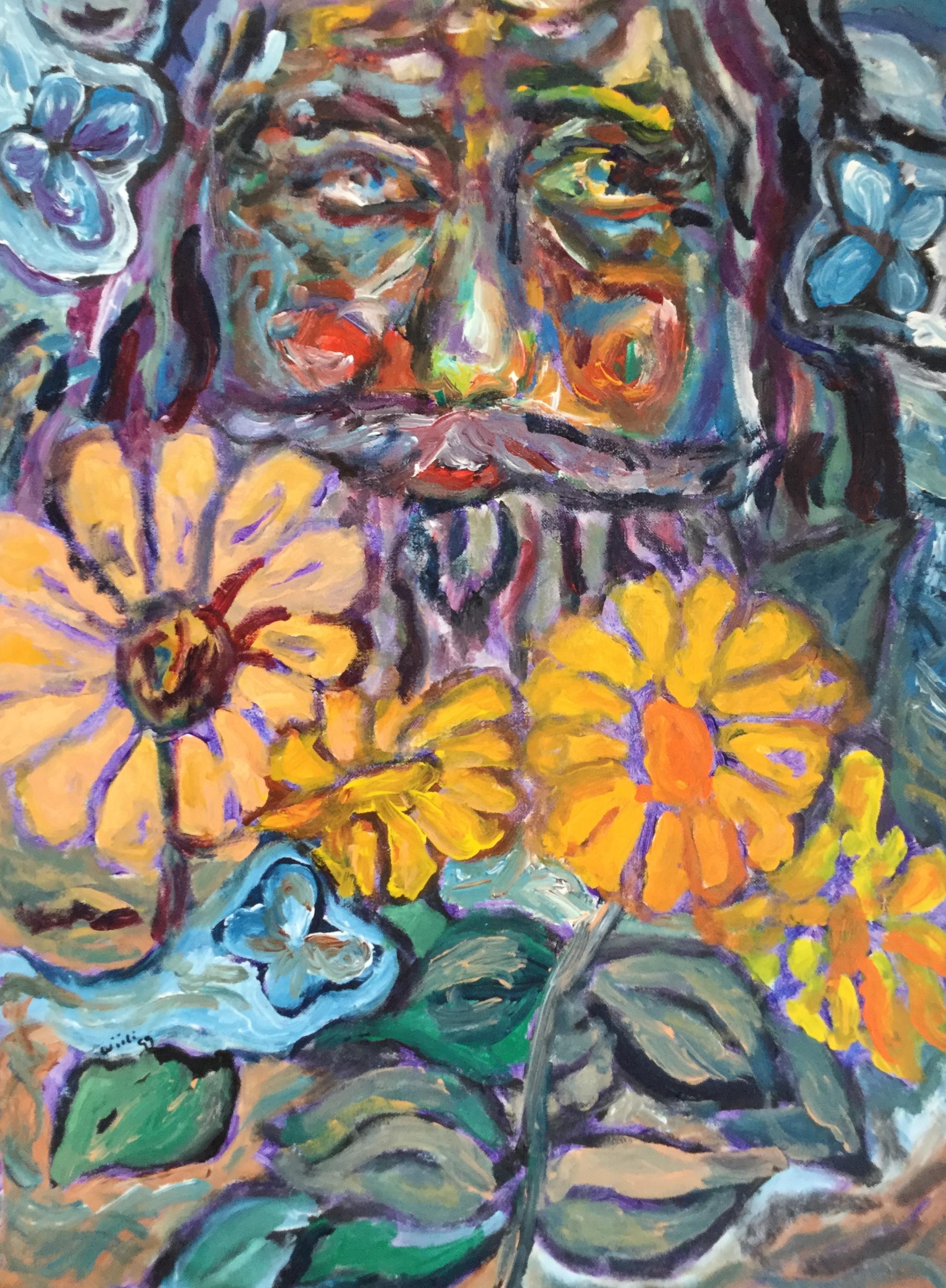 Daylilies Self Portrait