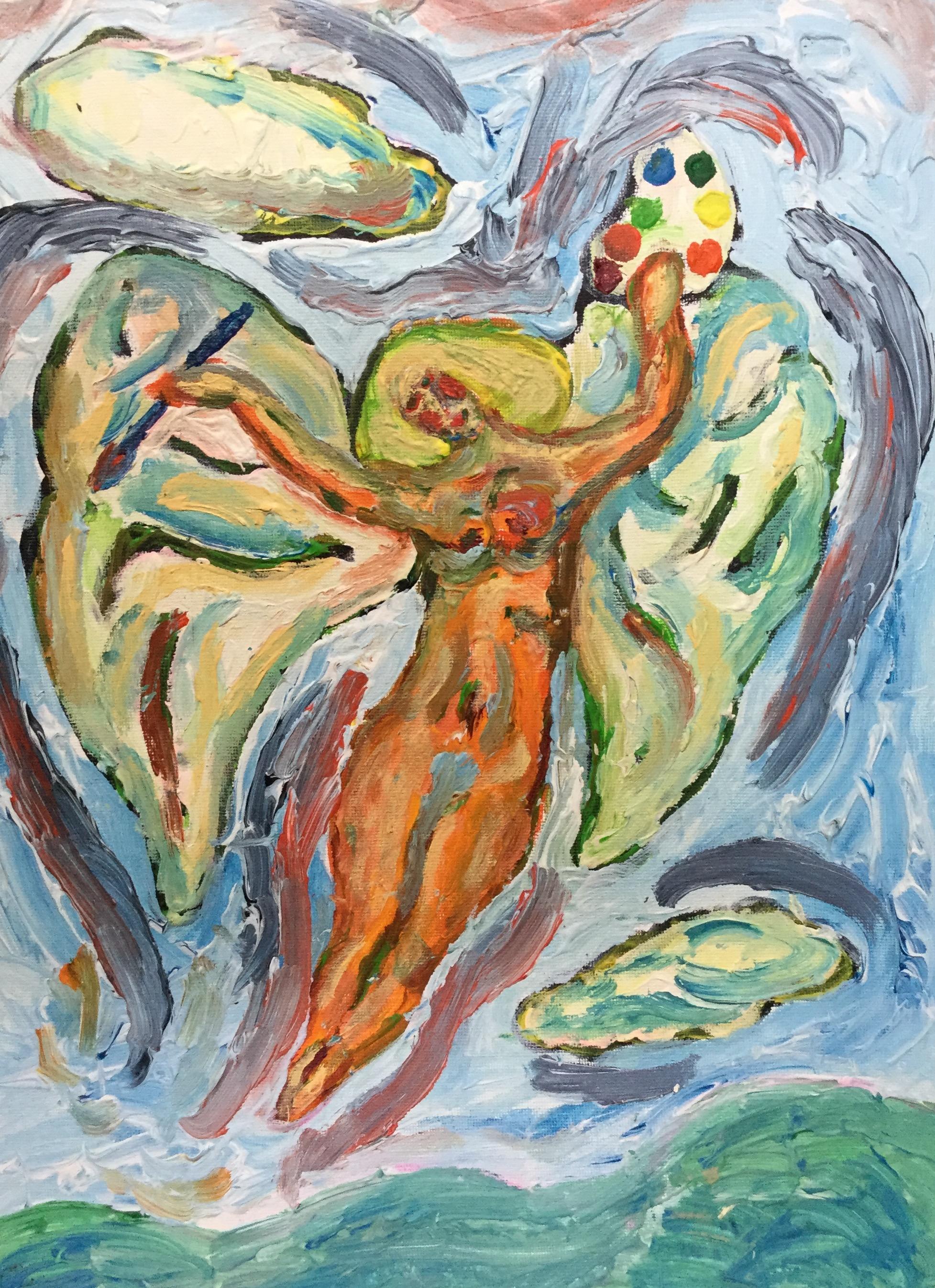 Painting Angel