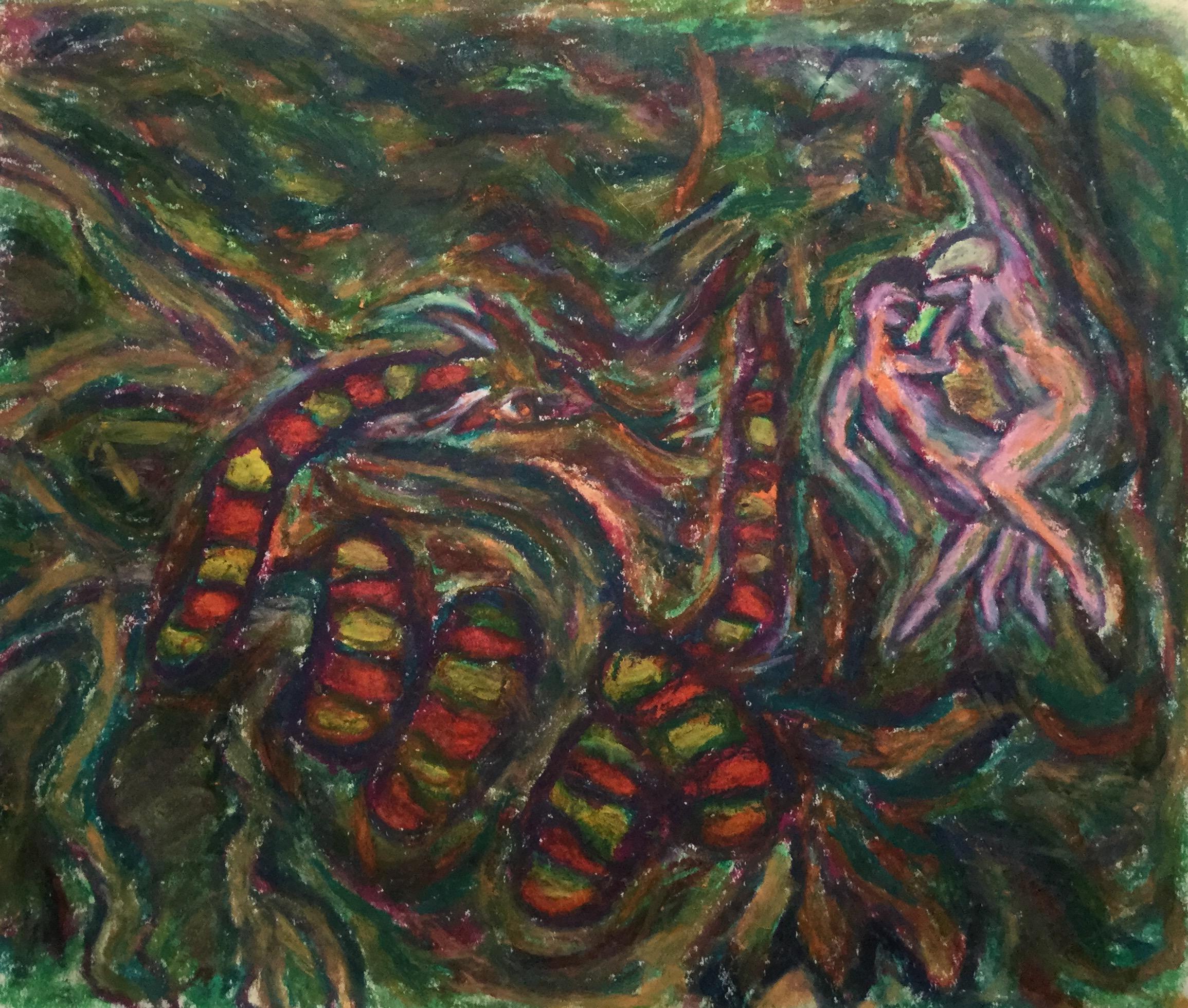 Snake, Adam, and Eve