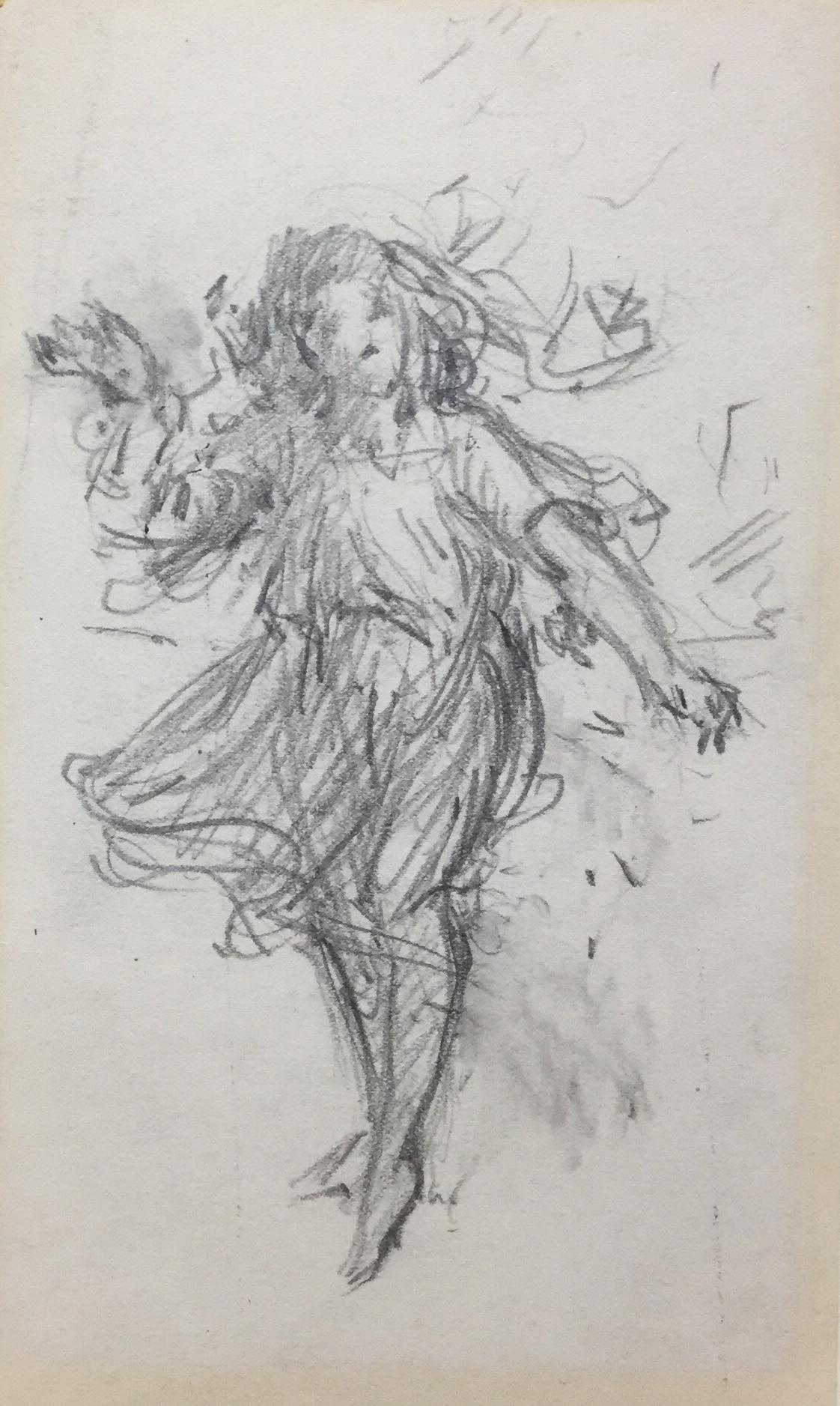 Sketch of Marjorie Daingerfield *