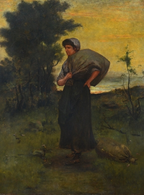 Peasant Woman, Blowing Rock NC *
