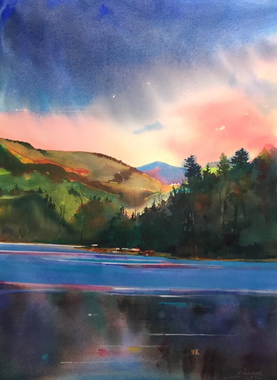 Watauga Lake Sunset *