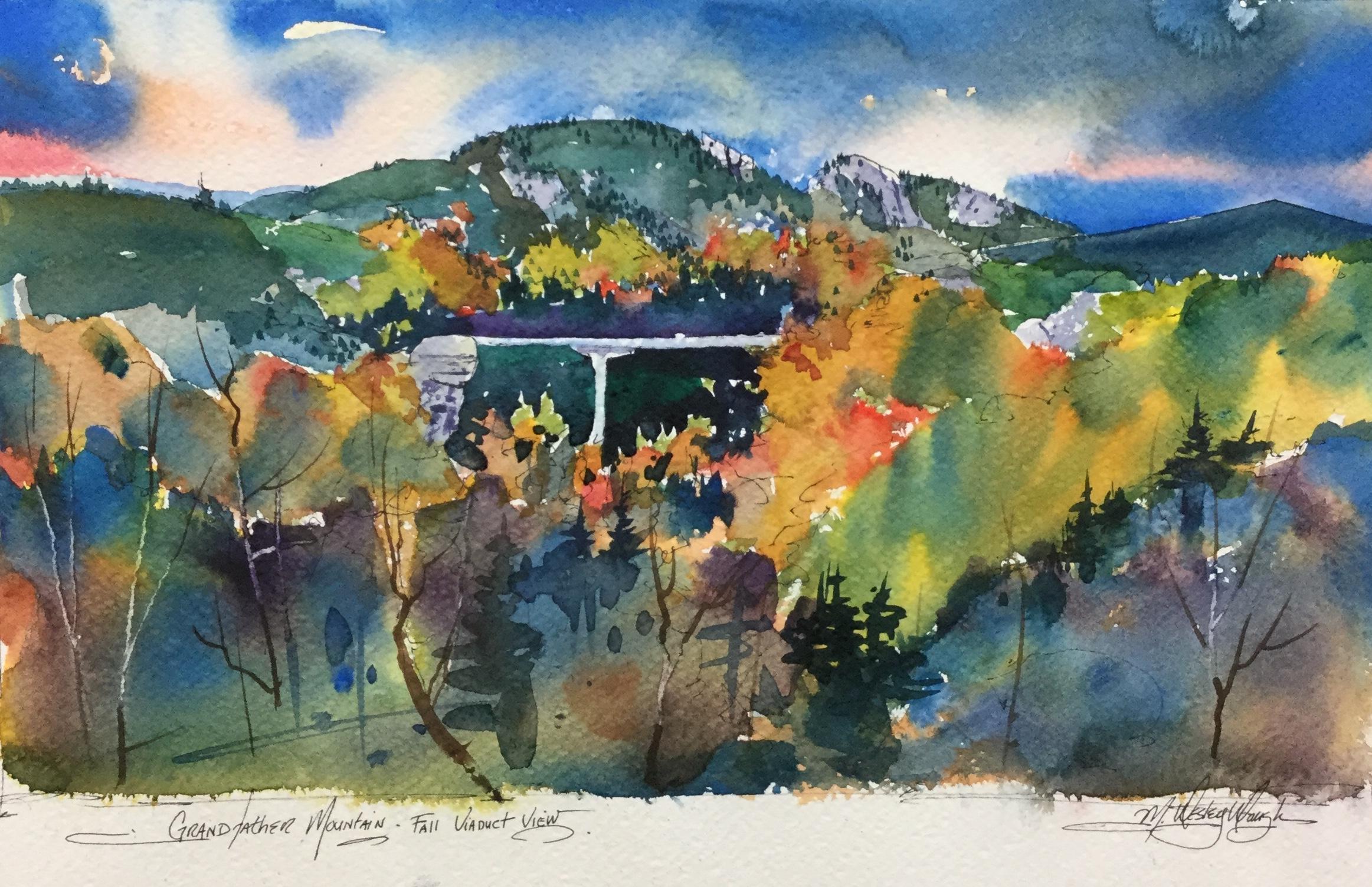 Grandfather Mountain Fall Viaduct View*