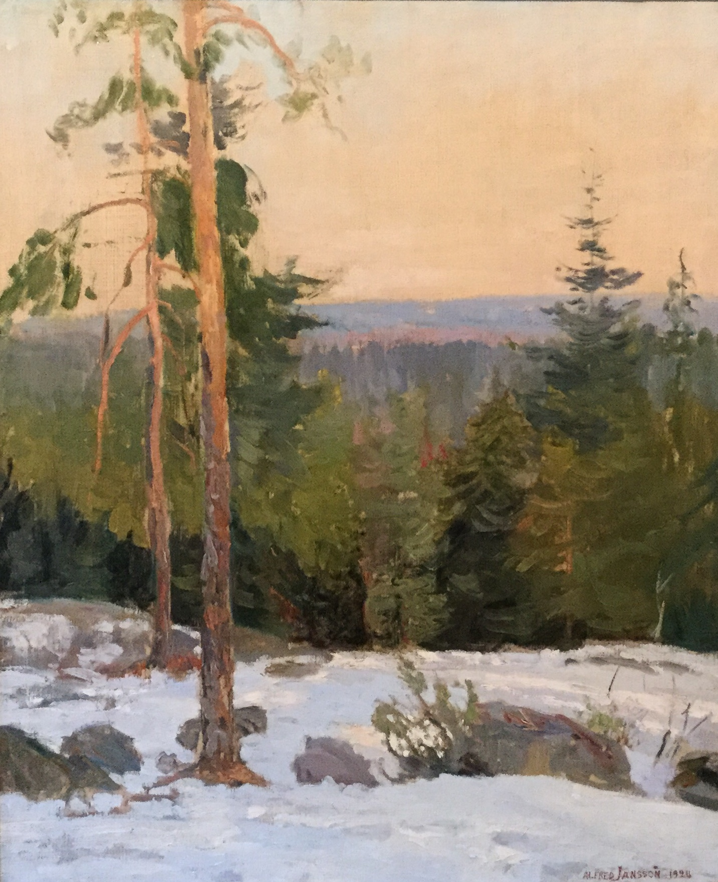 Winter Scene (The First Snow)