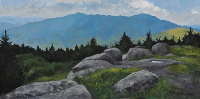Roan Mountain from Grassy Bald
