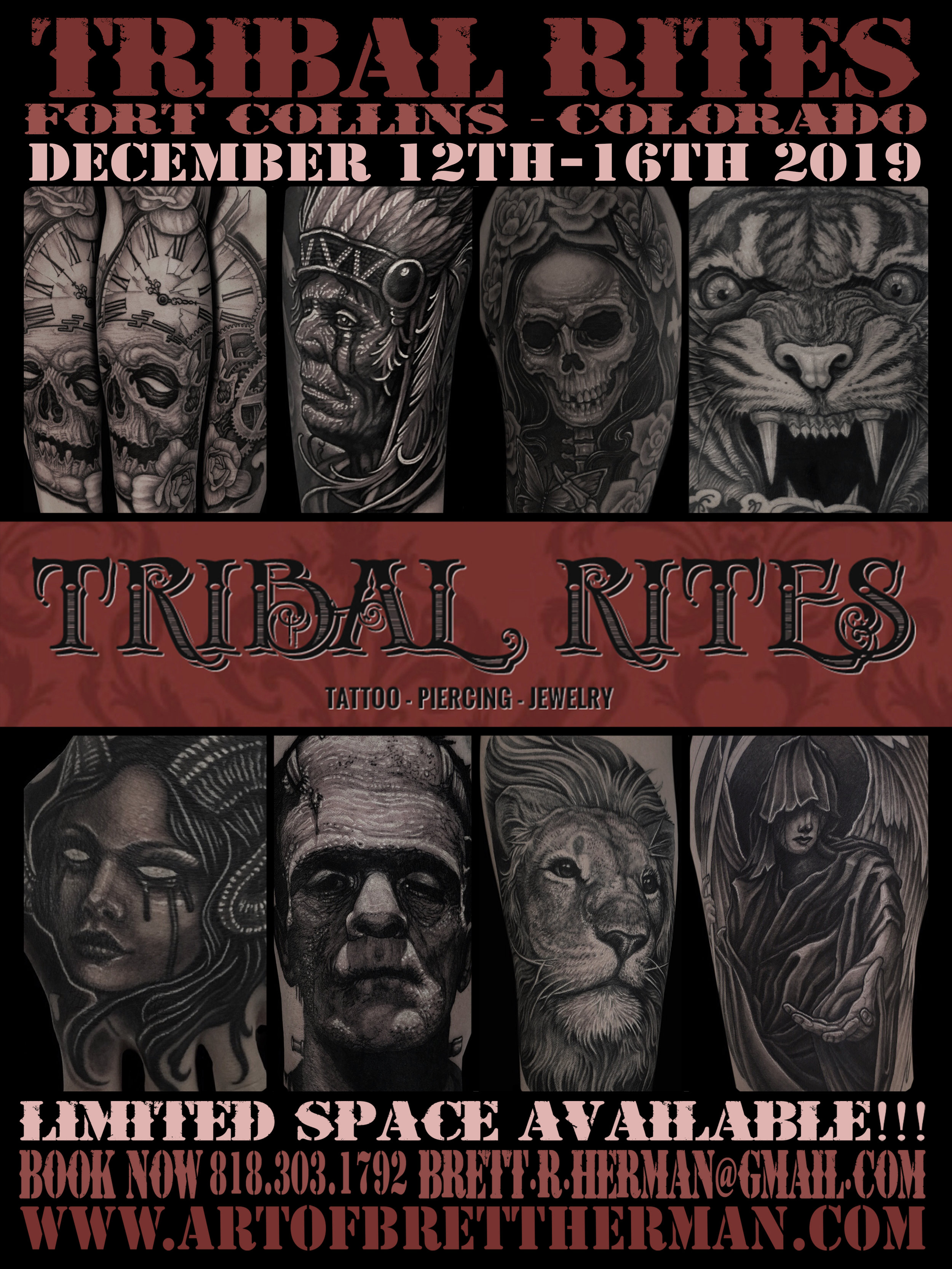Colorado & Los Angeles based Tattoo & fine artist | Art of Brett Herman