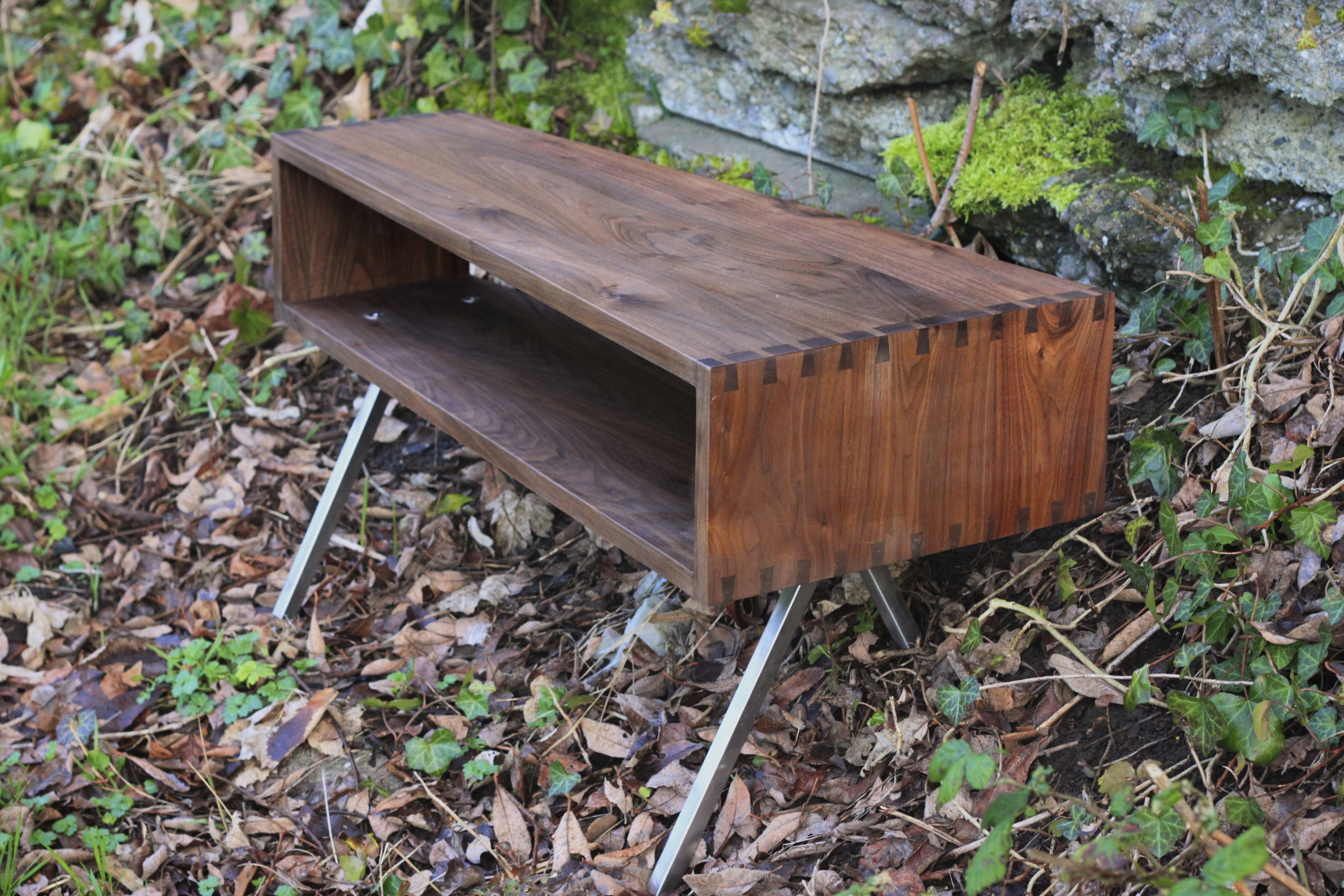 Joinered Cubby Coffee Table,  Walnut