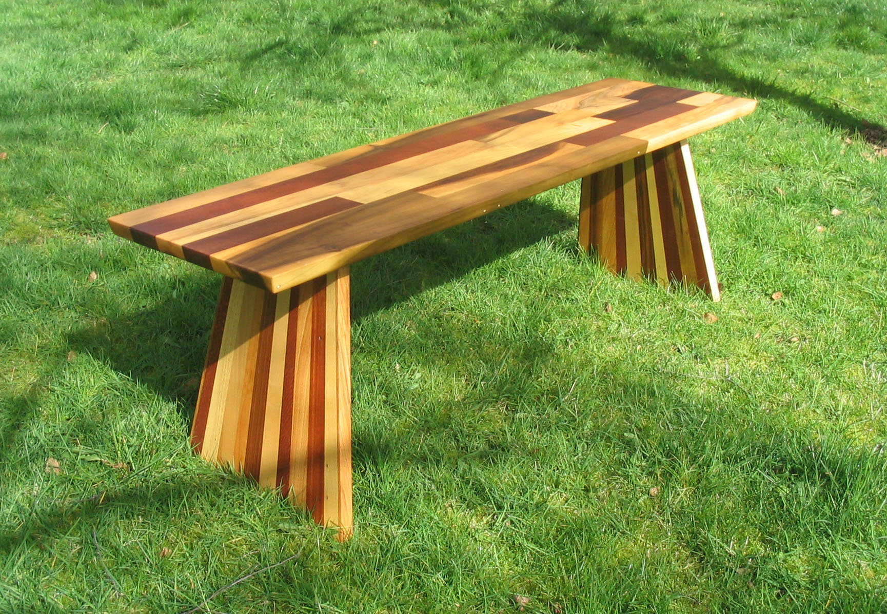 Bellbottom Scrap Bench