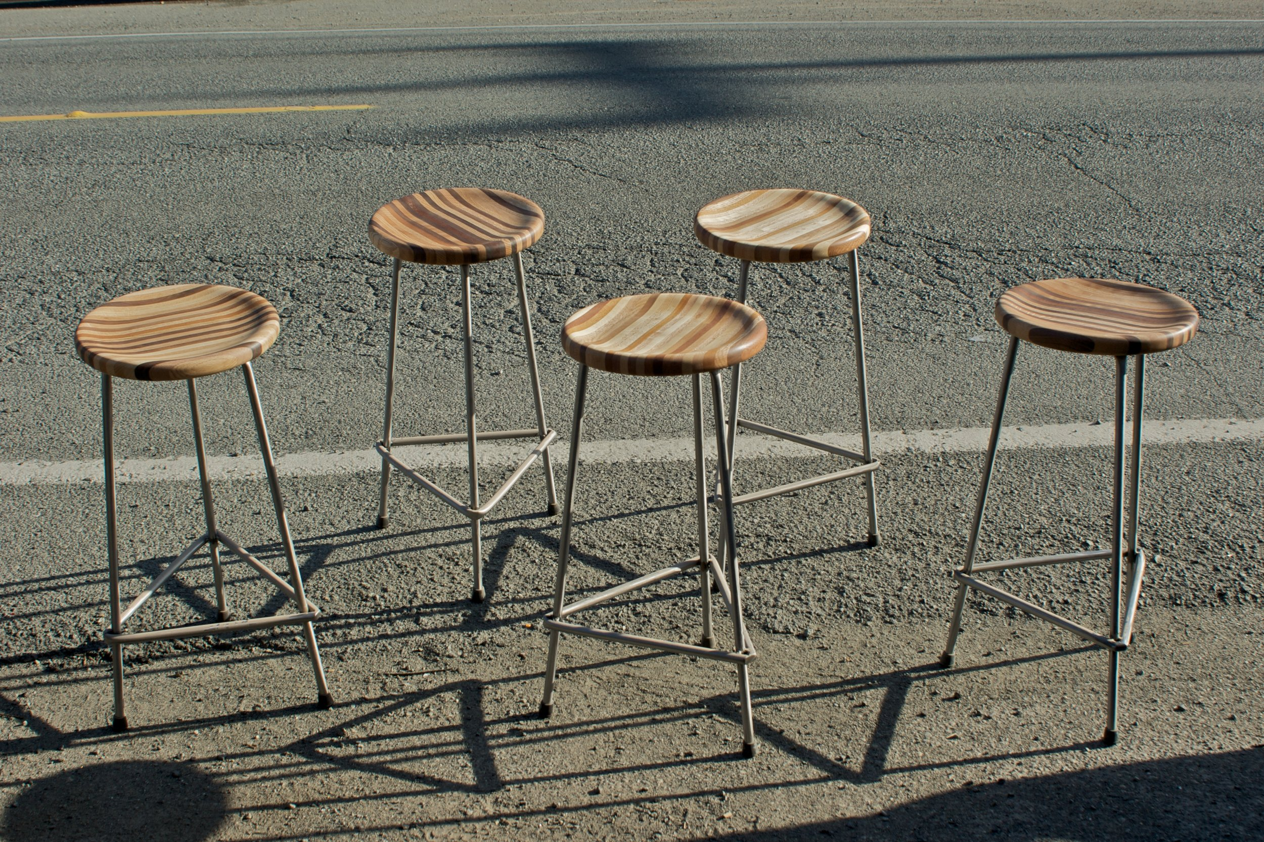 Steel-based Scrap Stools