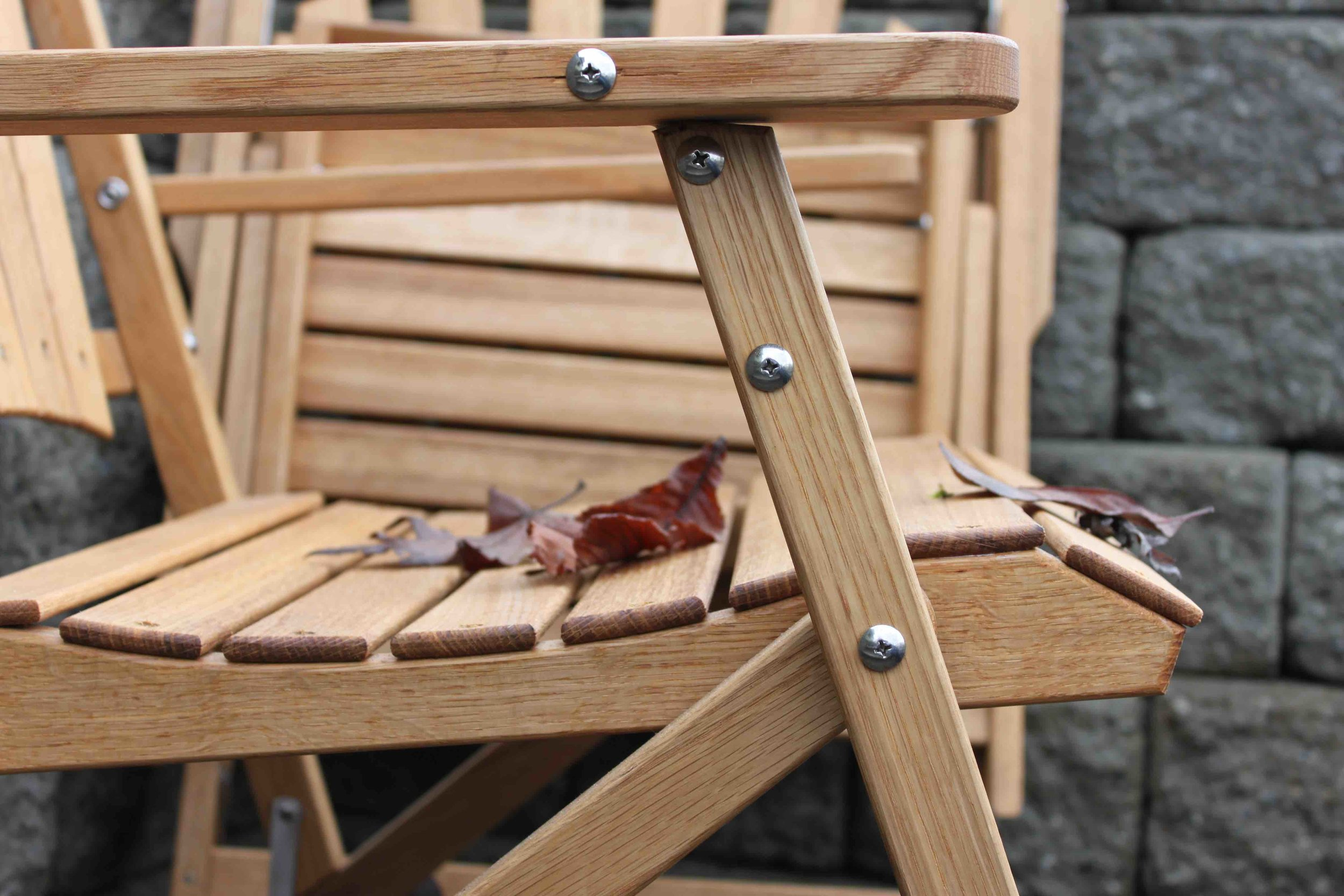 Oak Folding Chair.Detail 2.jpg
