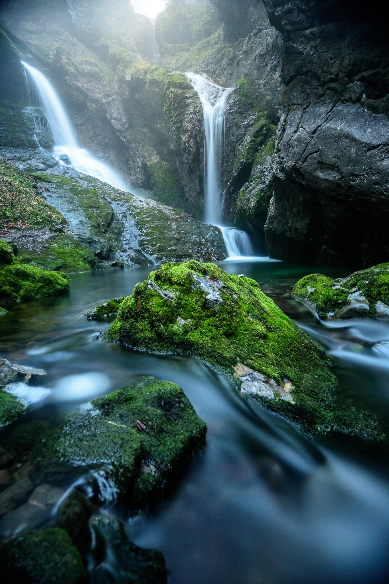 Vorarlberg Wasserfall #208