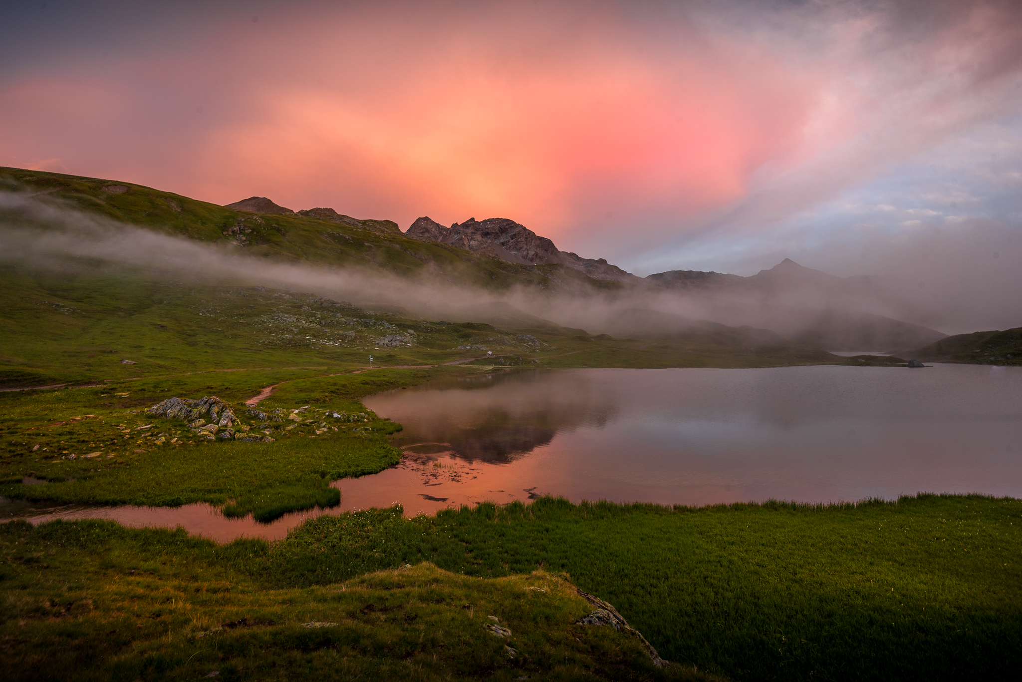 Vorarlberg / Tirol Scheidseen #218