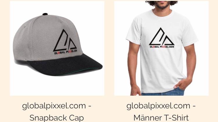 Shirts caps hoodies Turnbeutel und mehr! -