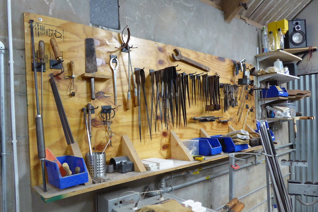 Some of the tools of glass making