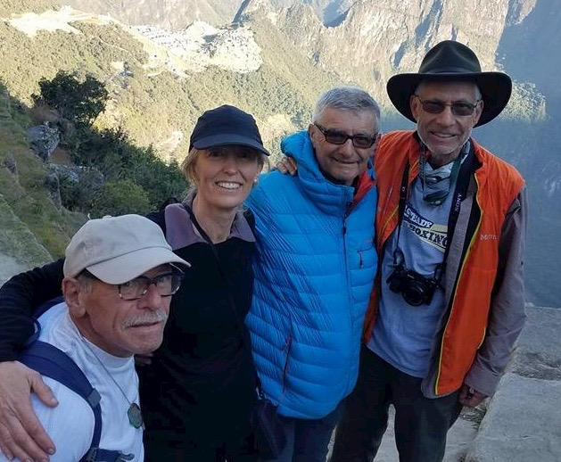 Silvano & Tiberio Rodas (Italy), Jo Quirk (New Zealand), and Steve Gilbert (USA)