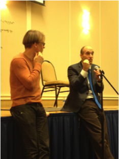 Alban Gerhardt and I speaking on music and the brain.