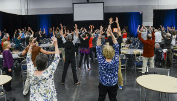 Power through Project workout at WPC 2016