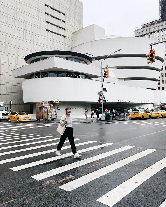 Clearly very excited about going to the  @guggenheim #arthoe #pretentious