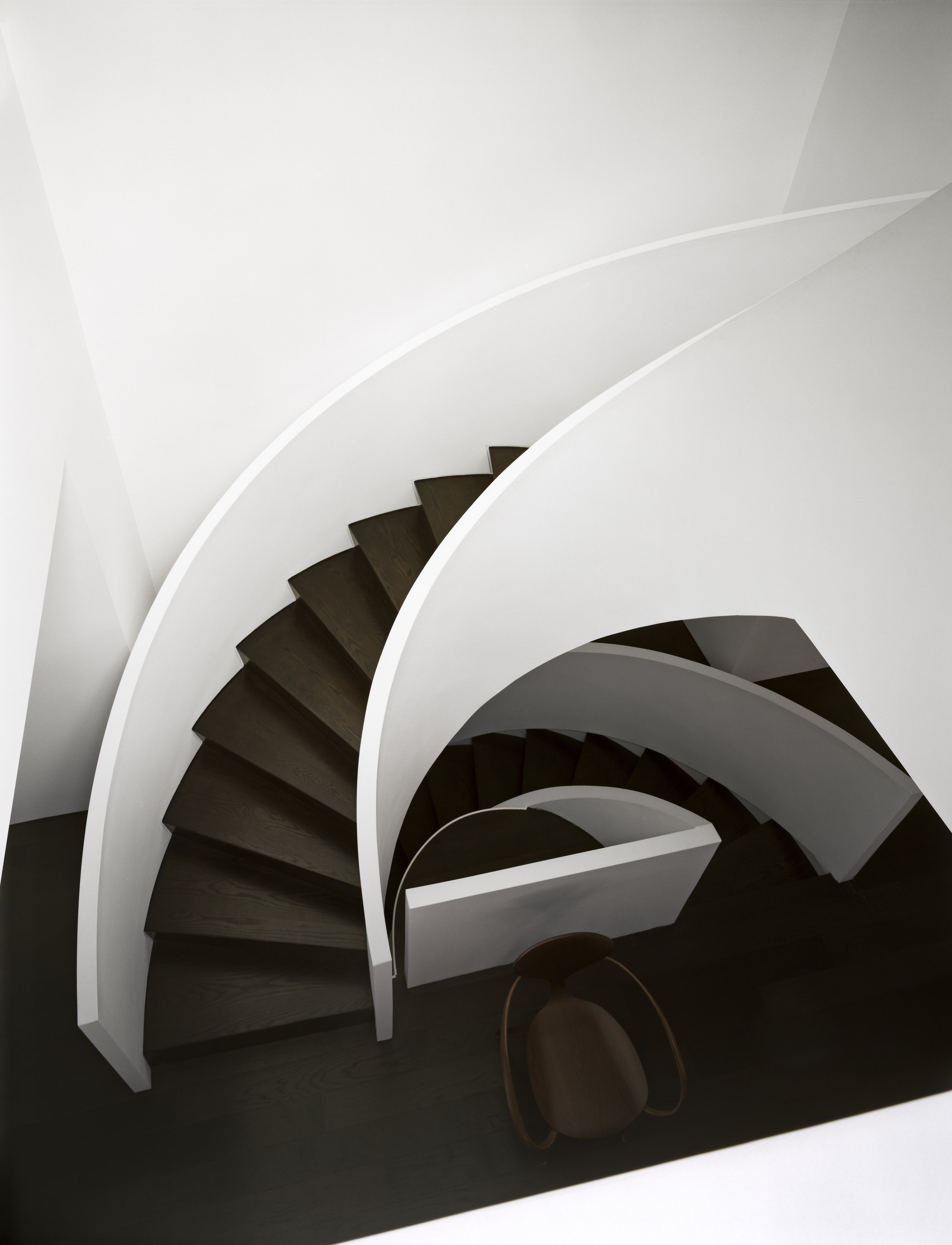 Copy of Russell Hill Road - Stair Curve White Aerial