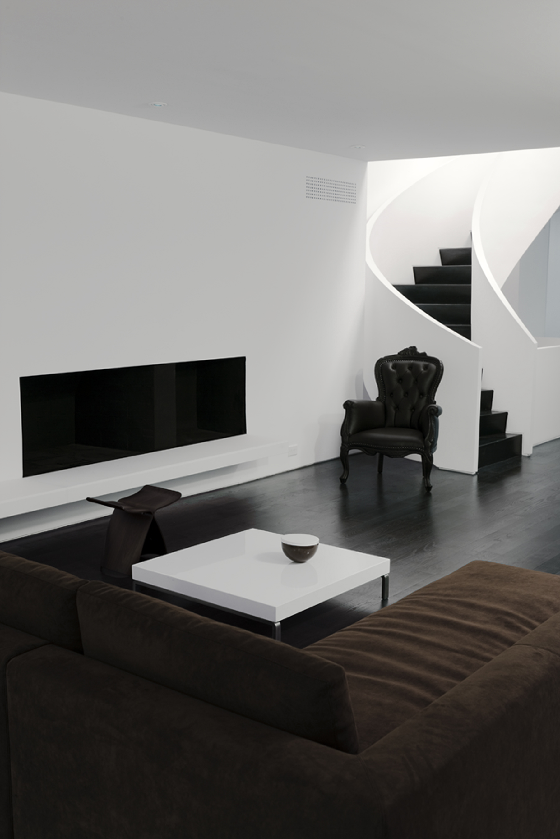 Copy of Russell Hill Road - Stair Curve White Couch Living Room