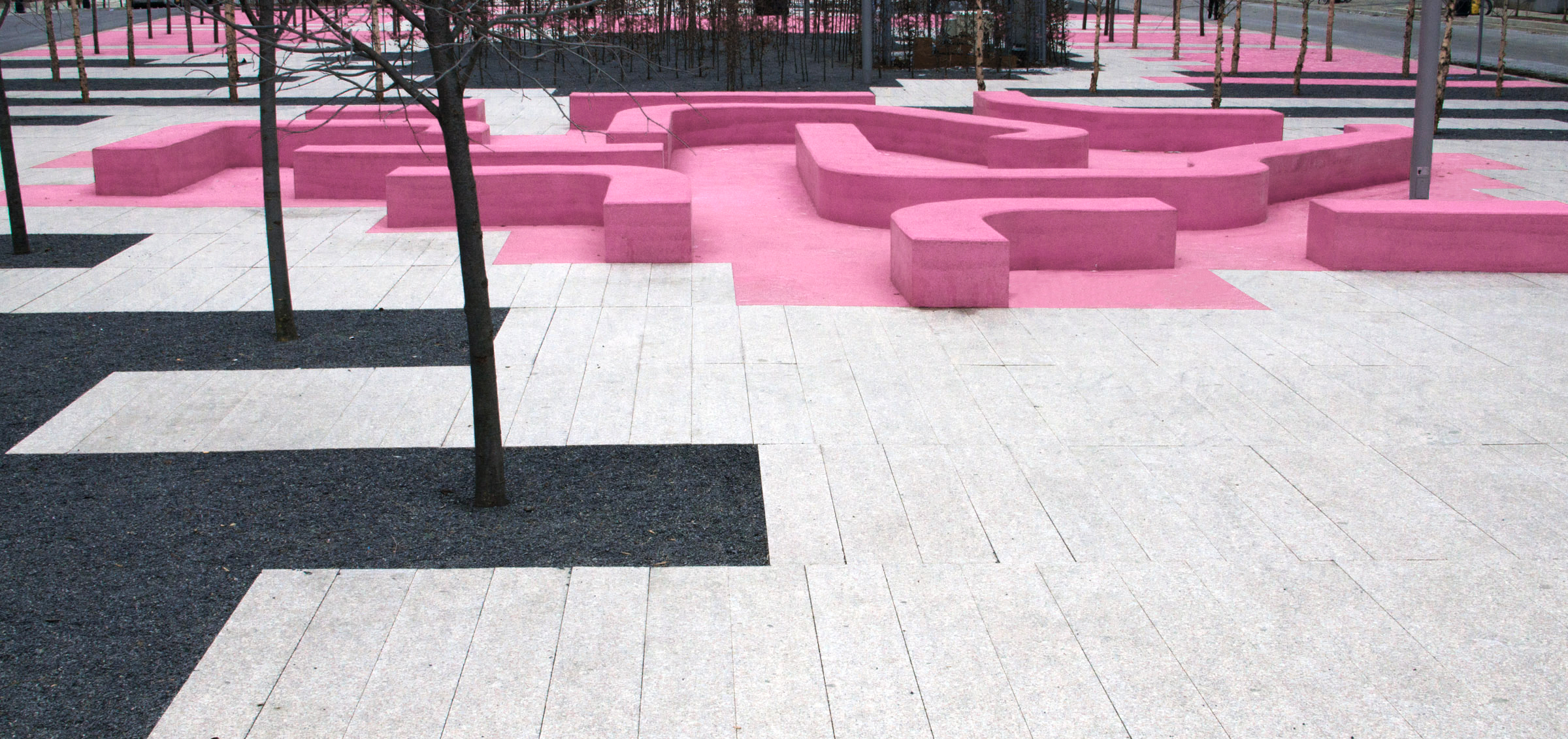 Copy of Copy of June Callwood Park - Pink Maze