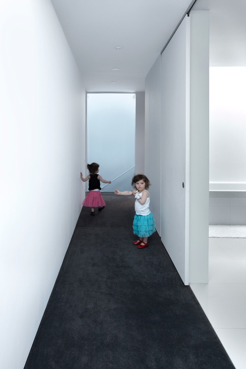 House 60 - Upper Hallway with kids