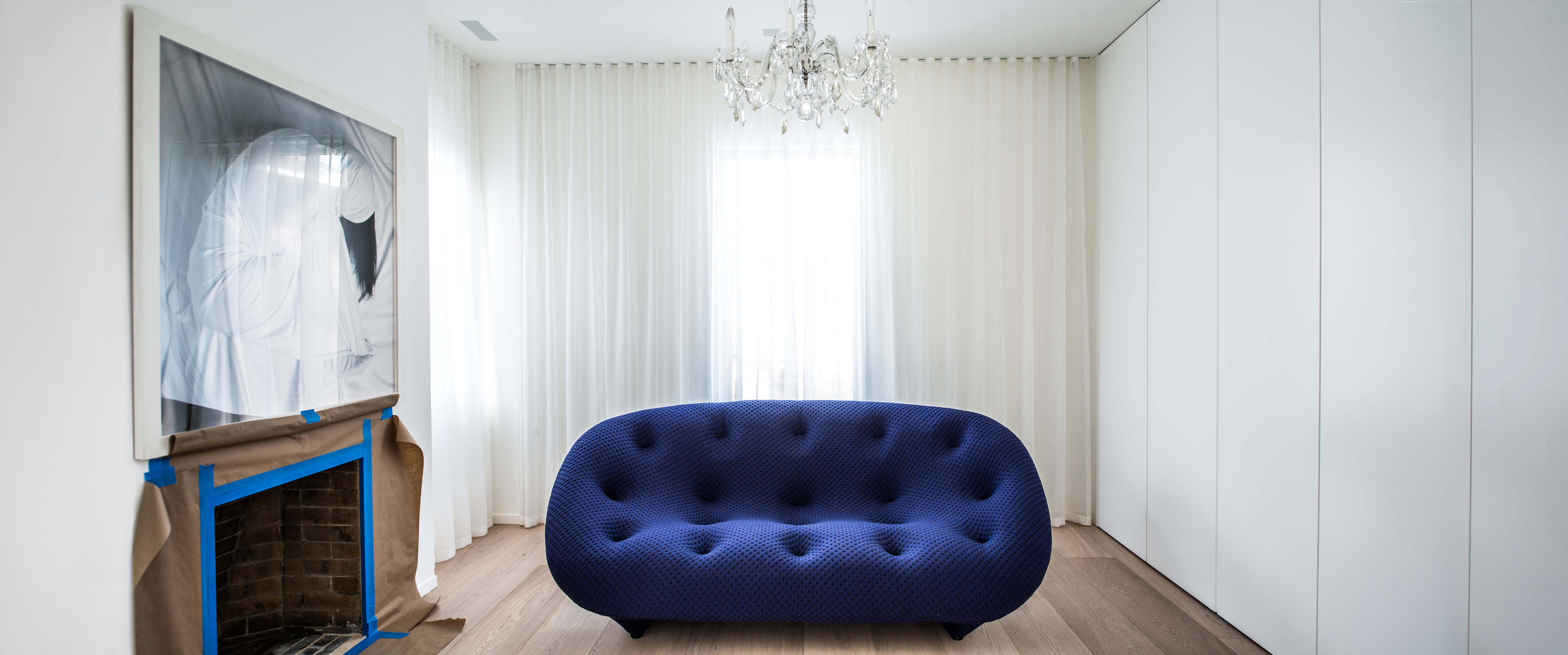 Copy of Street House - dressing room couch