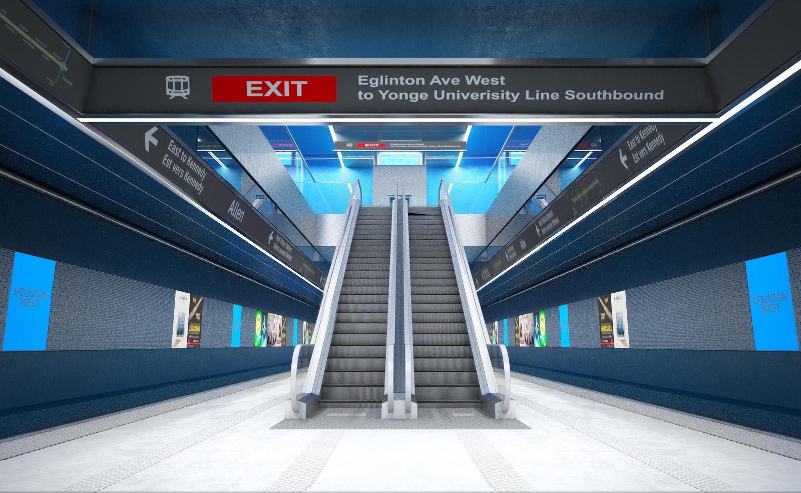Eglinton Crosstown LRT DX - Station Platform
