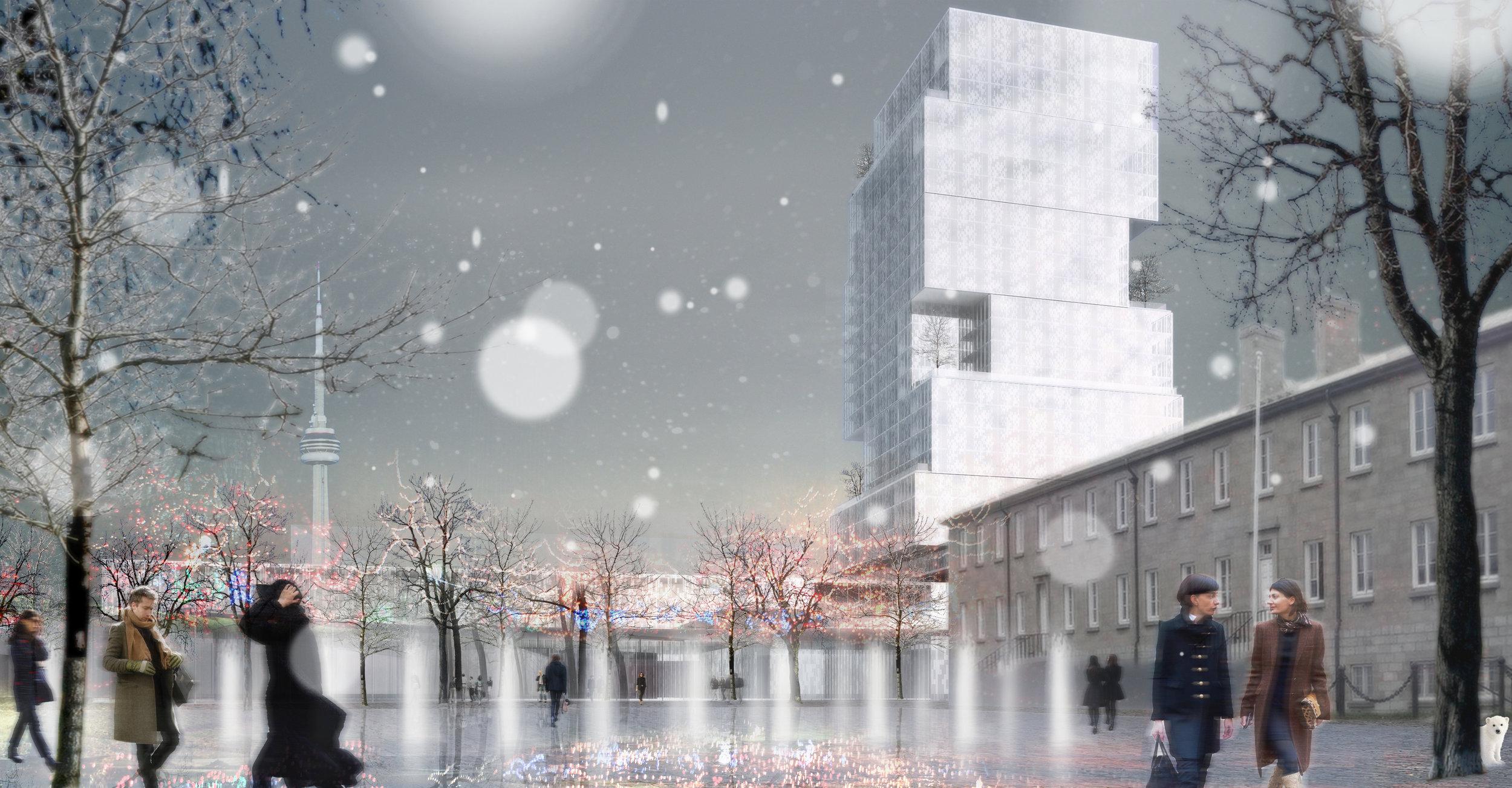 CNE Hotel - Winter Landscape