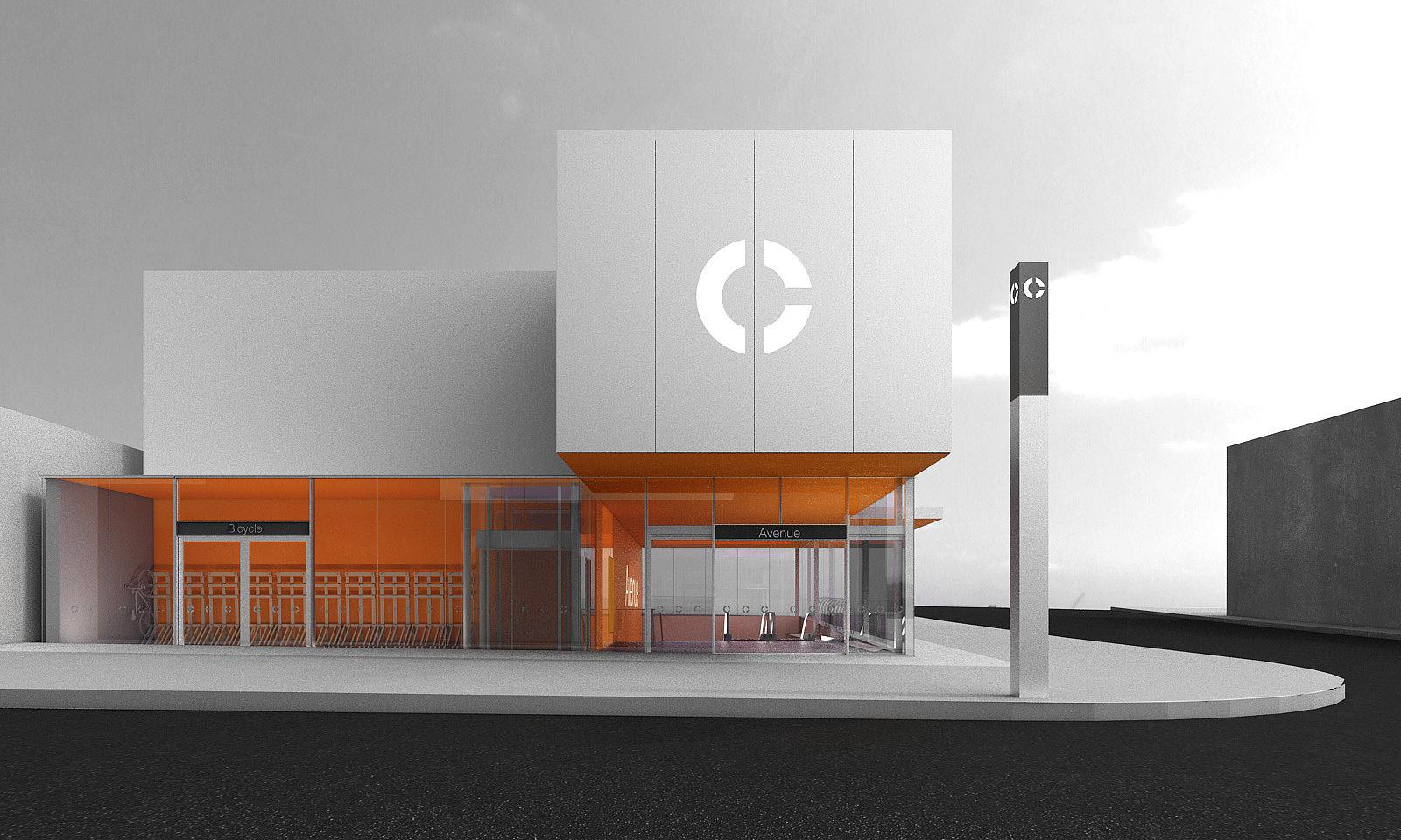 Eglinton Crosstown LRT DX - Avenue Station Primary Entrance Fron