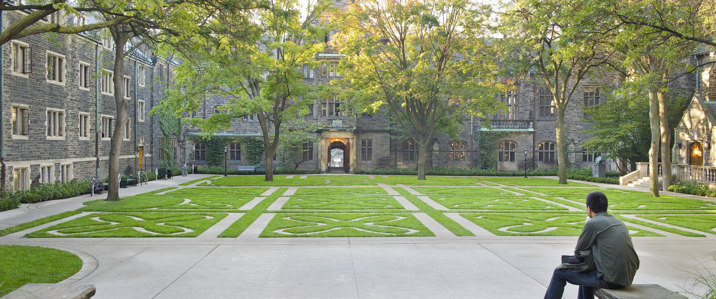 Trinity College Quadrangle -