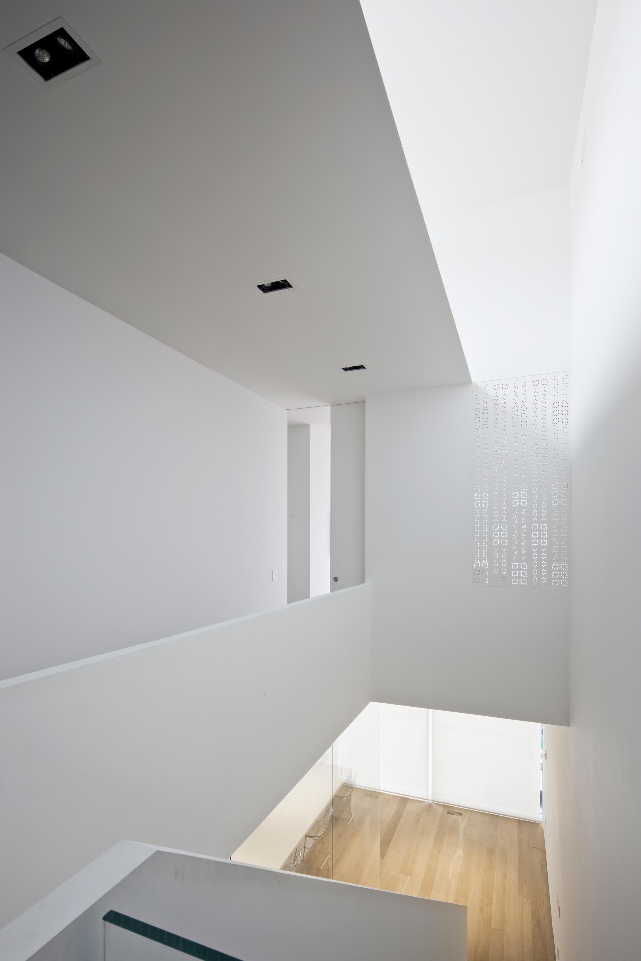 Robert House - stair skylight