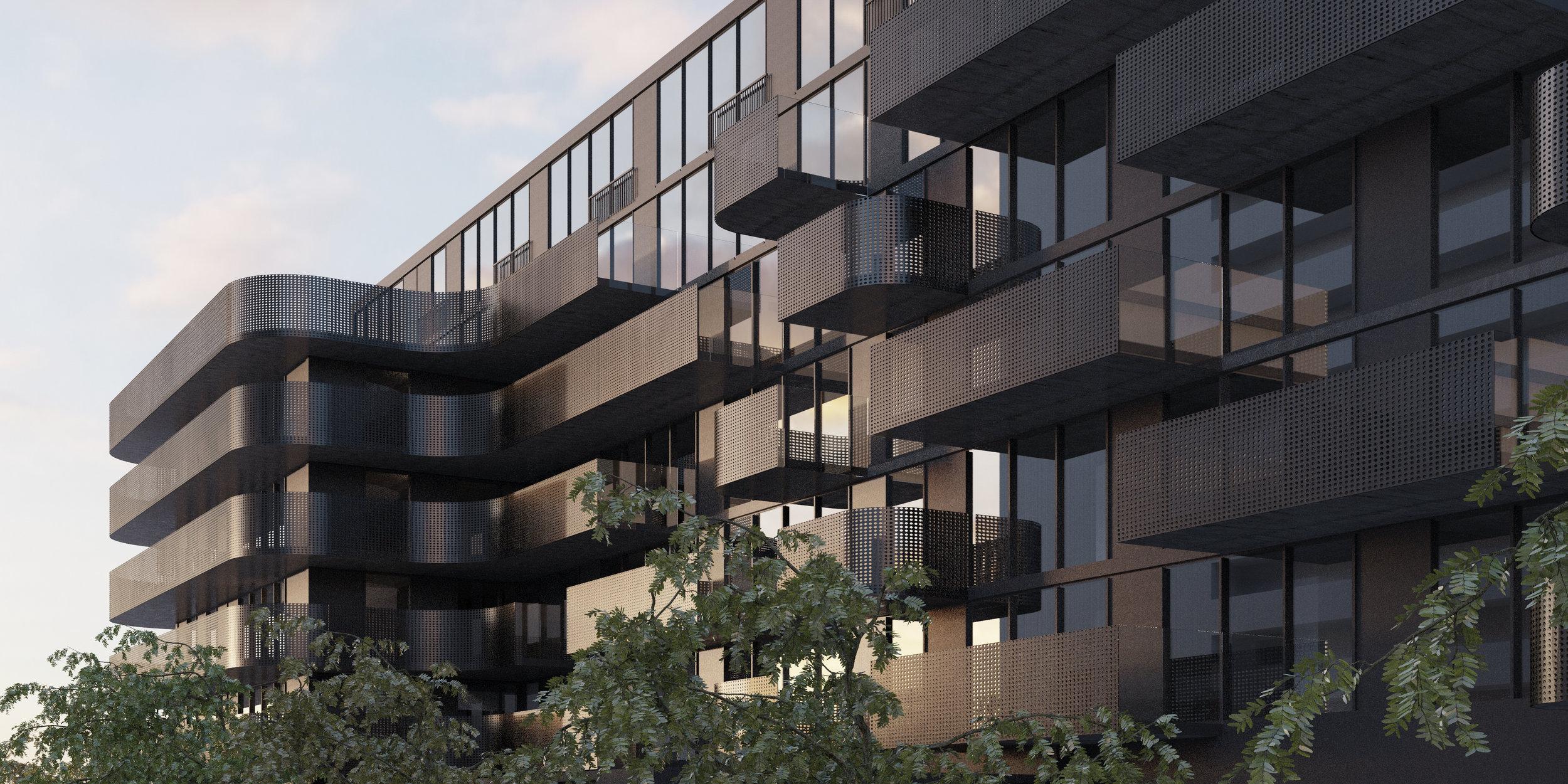 Tippett Black - Balconies