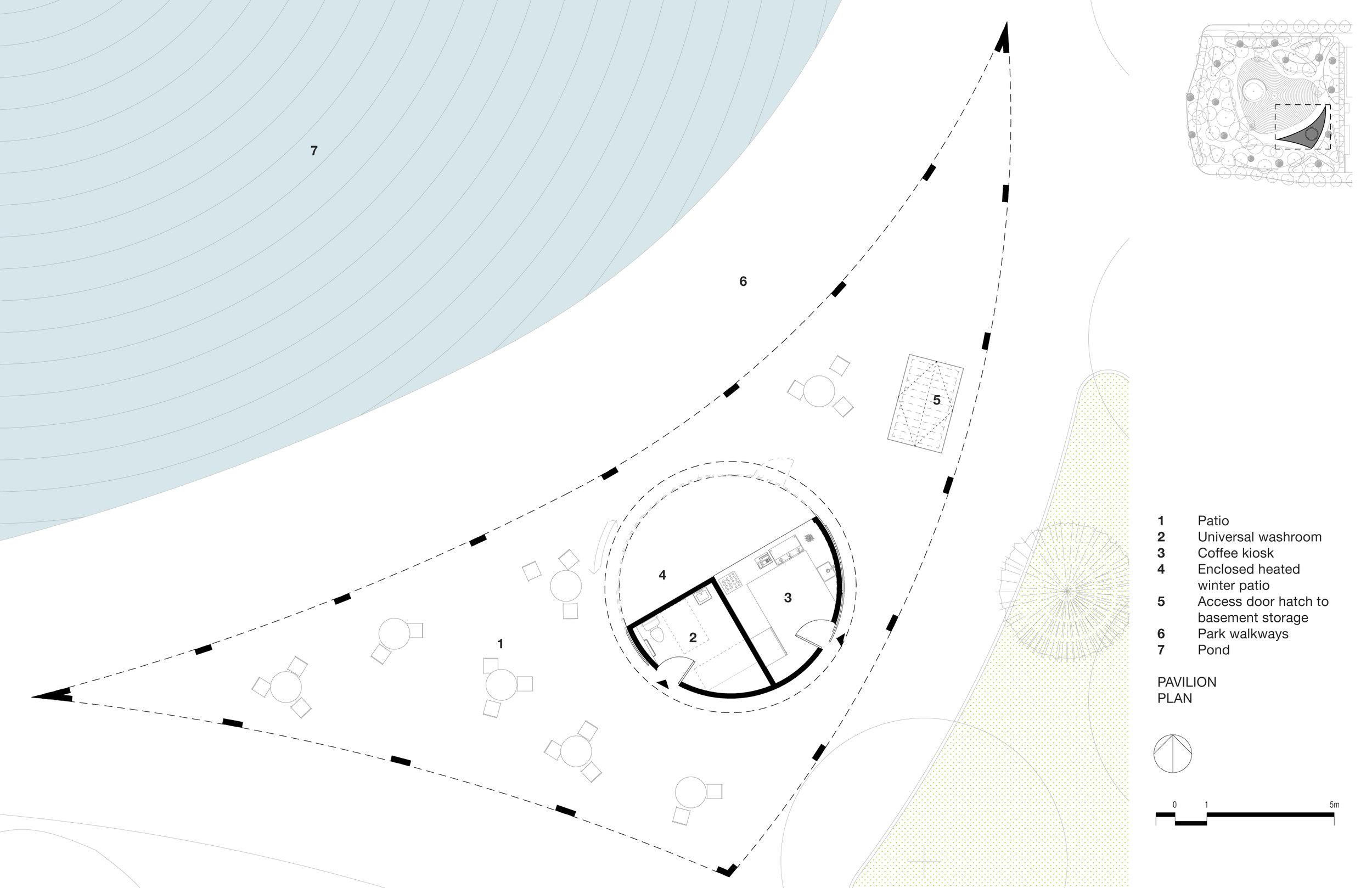 Love Park - Pavilion Plan