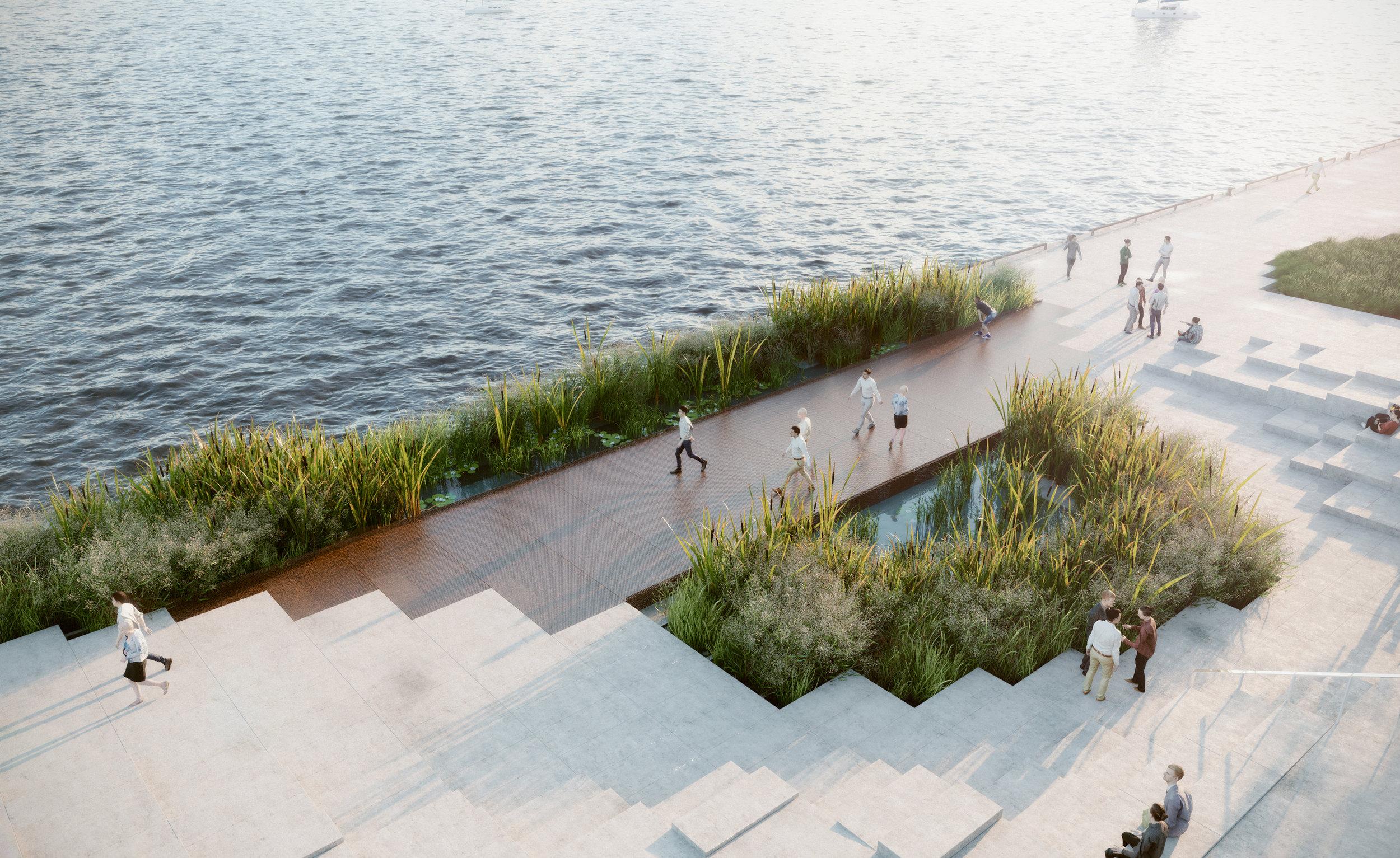 Pier 8 Promenade Park - Marsh