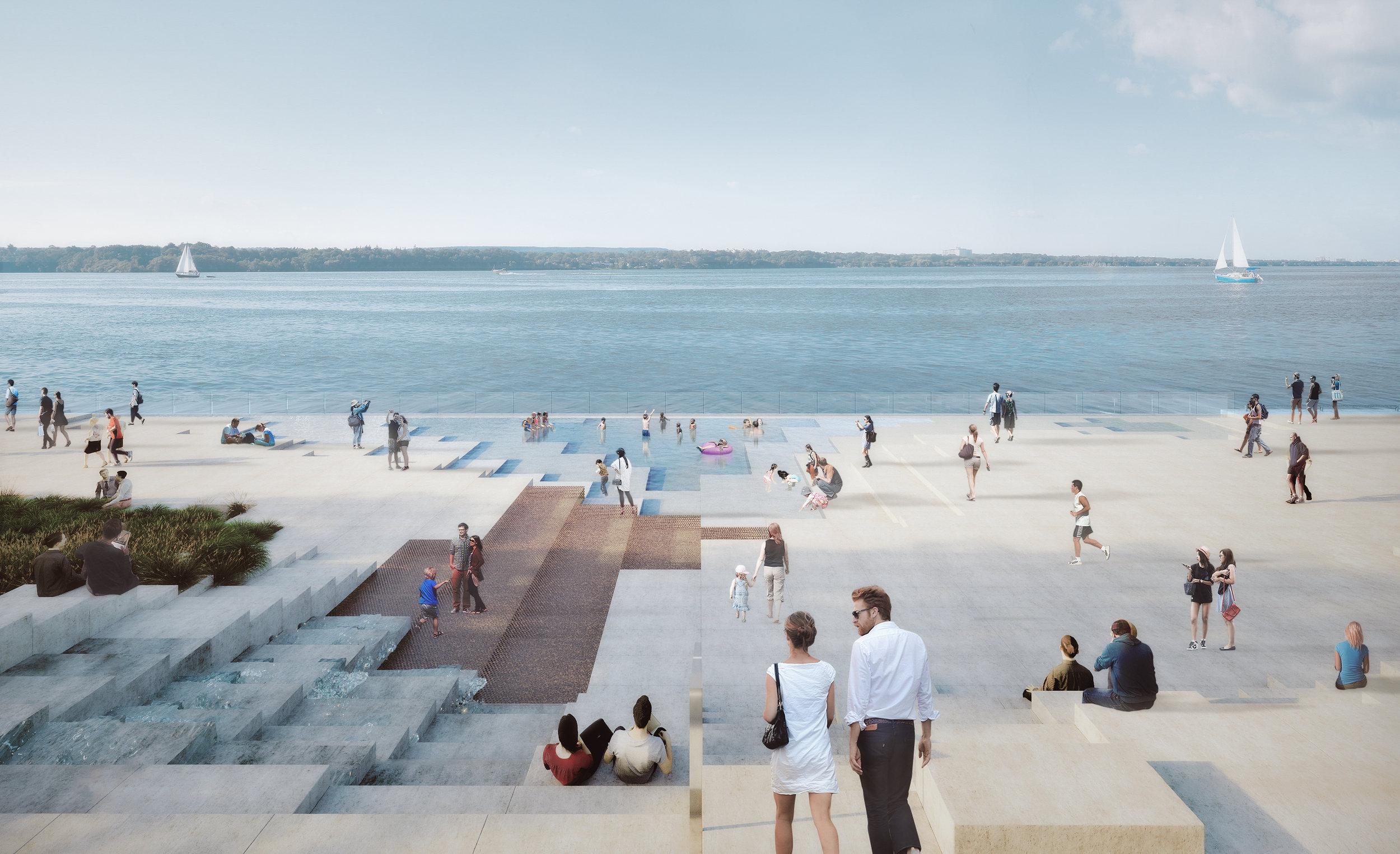 Pier 8 Promenade Park - Pool